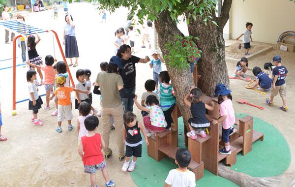 光の園幼稚園 遊具会