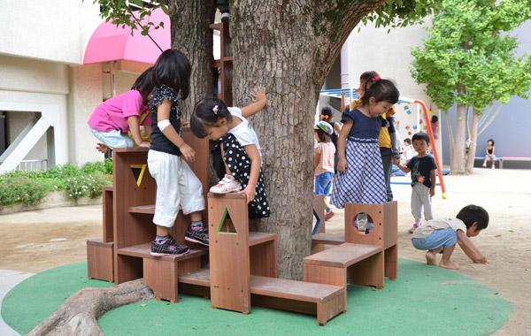 光の園幼稚園 遊具