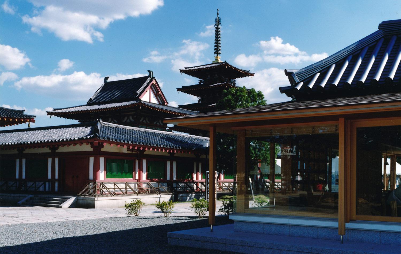 四天王寺参詣者休憩所